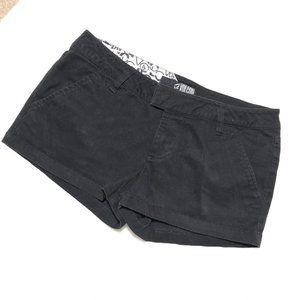 VOLCOM CHINO DRESS BLACK SHORT SIZE 3